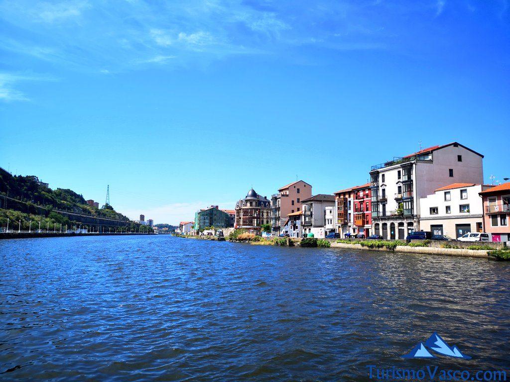 Zorrozaurre, rutas en Barco en Bilbao