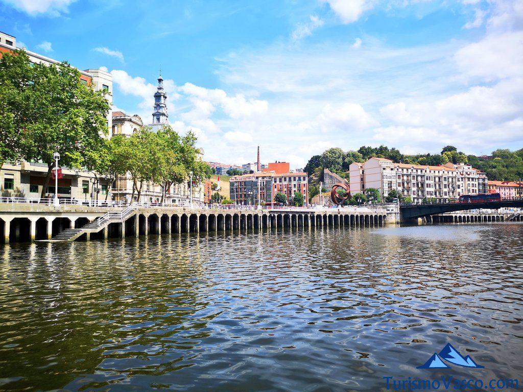 ayuntamiento de Bilbao, rutas en Barco en Bilbao