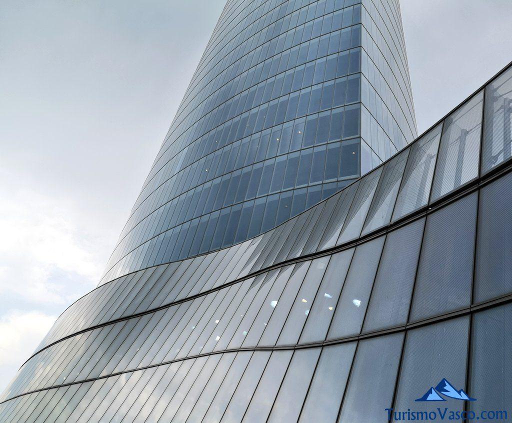 lateral, mirador Torre Iberdrola