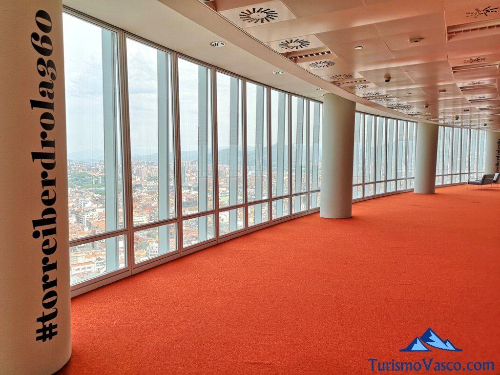panoramica, mirador Torre Iberdrola