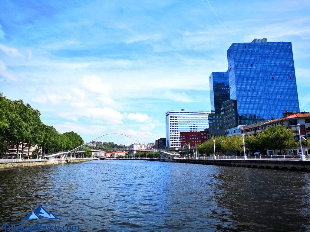 torres Isozaki, rutas en Barco en Bilbao