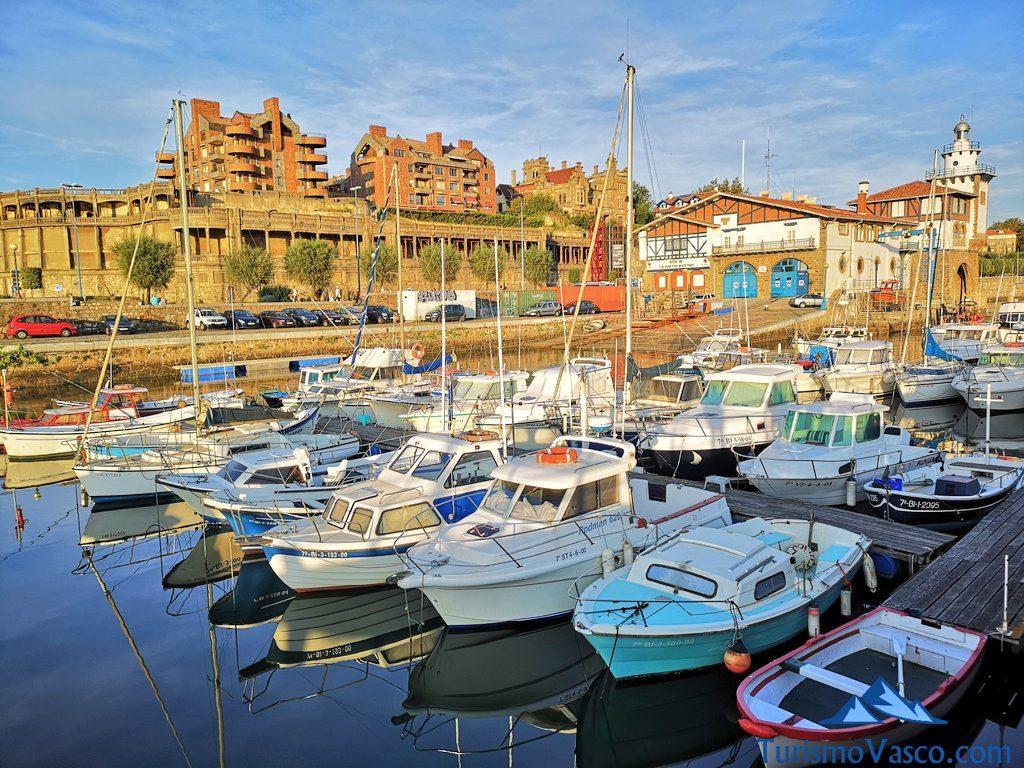 arriluce, getxo, rutas en barco en euskadi