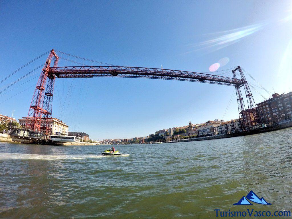puente bizkaia, puente colgante