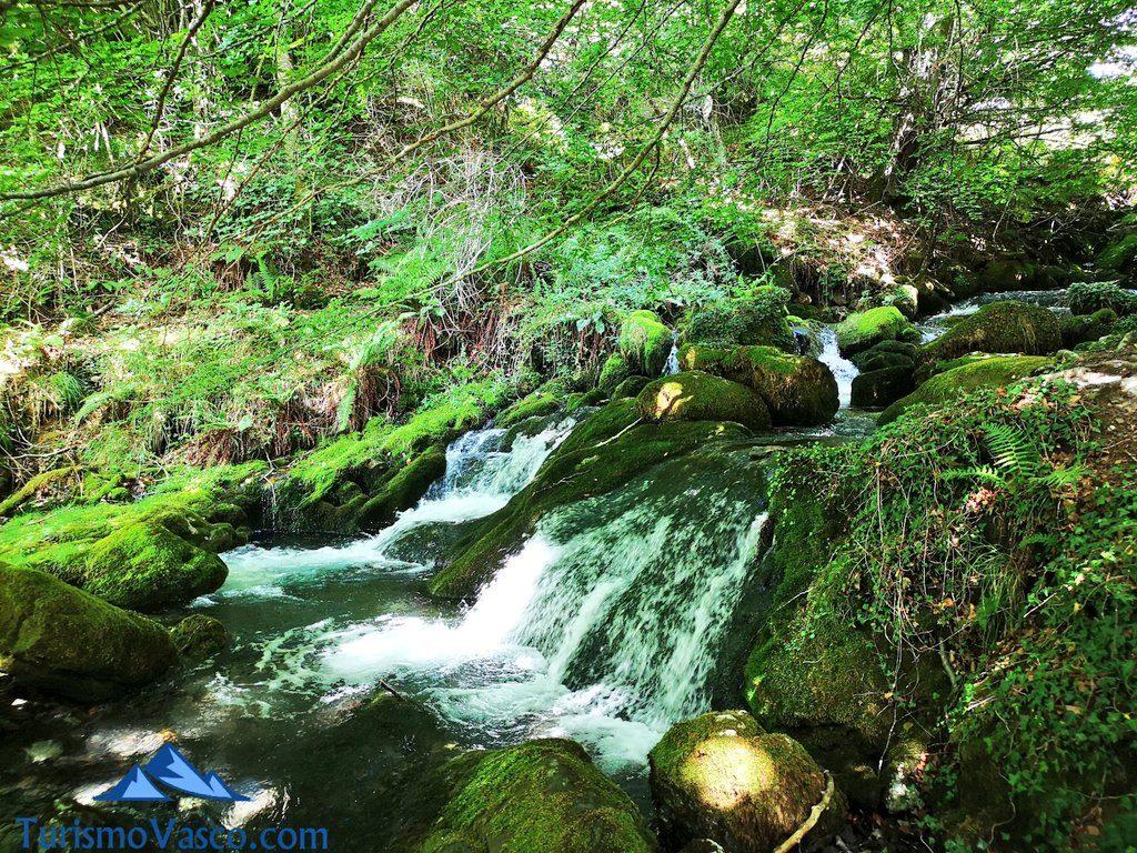 rio, Nacedero del río Zirauntza