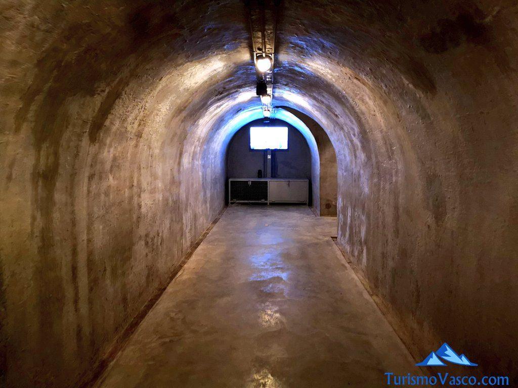 tunel refugio, gernika que ver y hacer