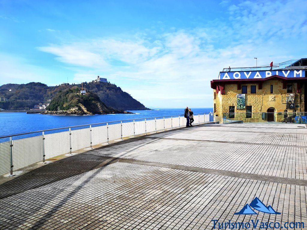 barandilla aquarium, que ver en Donostia San Sebastian