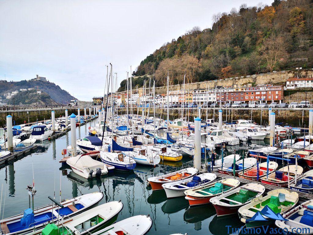 barcos puerto, que ver en Donostia San Sebastian
