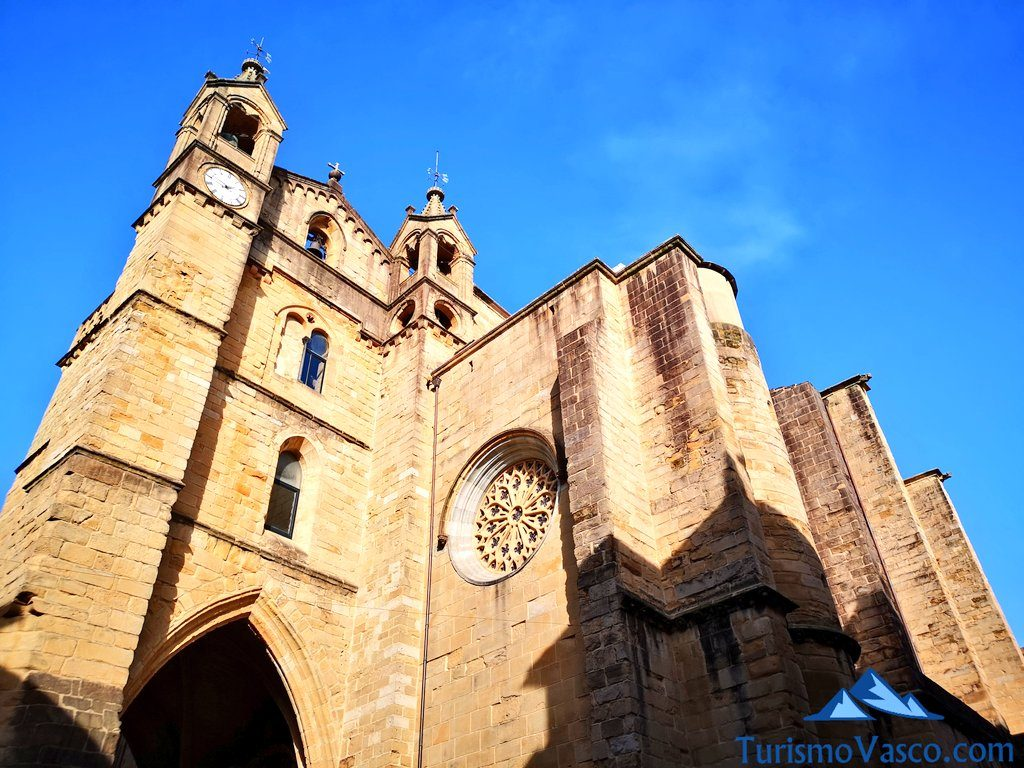 iglesia de san vicente, donostia san sebastian, parte vieja