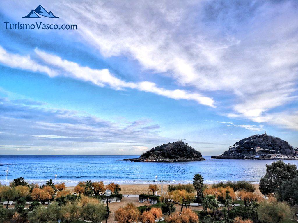 playa ondarreta, que ver en Donostia San Sebastian