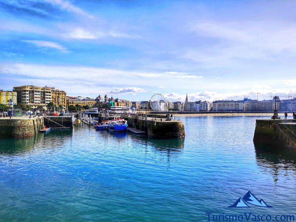 puerto, que ver en Donostia San Sebastian