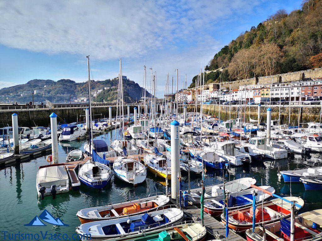 puerto txalupak, que ver en Donostia San Sebastian