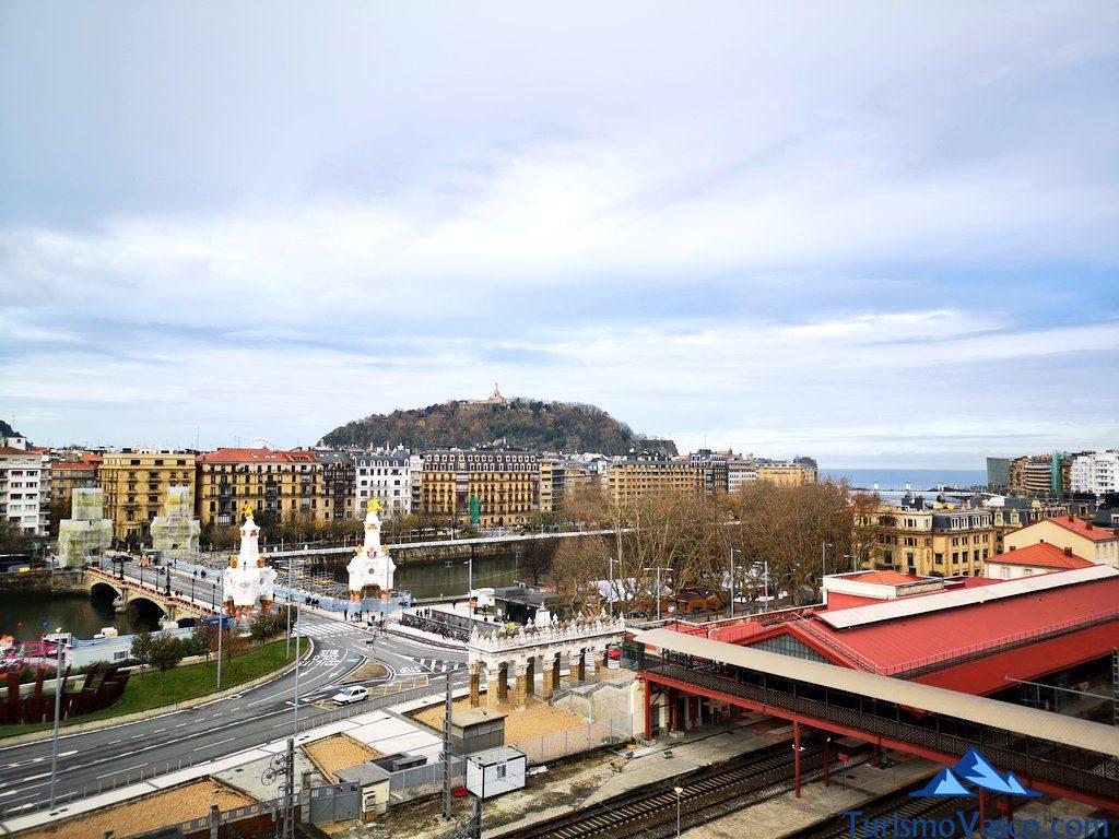 vistas tabakalera, puente maria cristina,que ver en Donostia San Sebastian