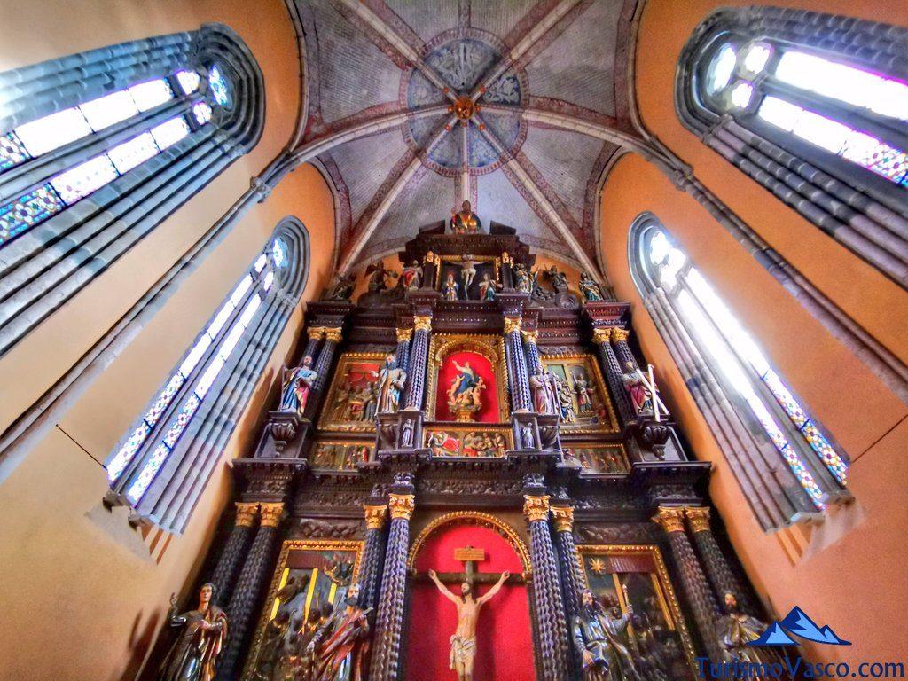 retablo santa maria, Orduña que ver Urduña