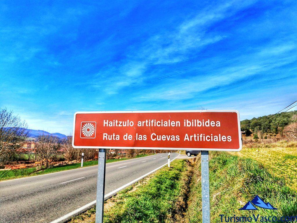 ruta de la cuevas artificiales de valdegovia, cuevas de Valdegovía