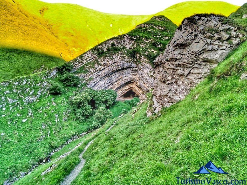 atardecer, Cueva de Harpea, Arpea
