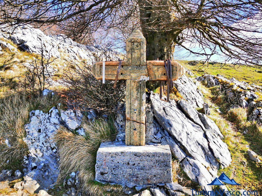 cruz sanadora, Hernio desde Iturriotz