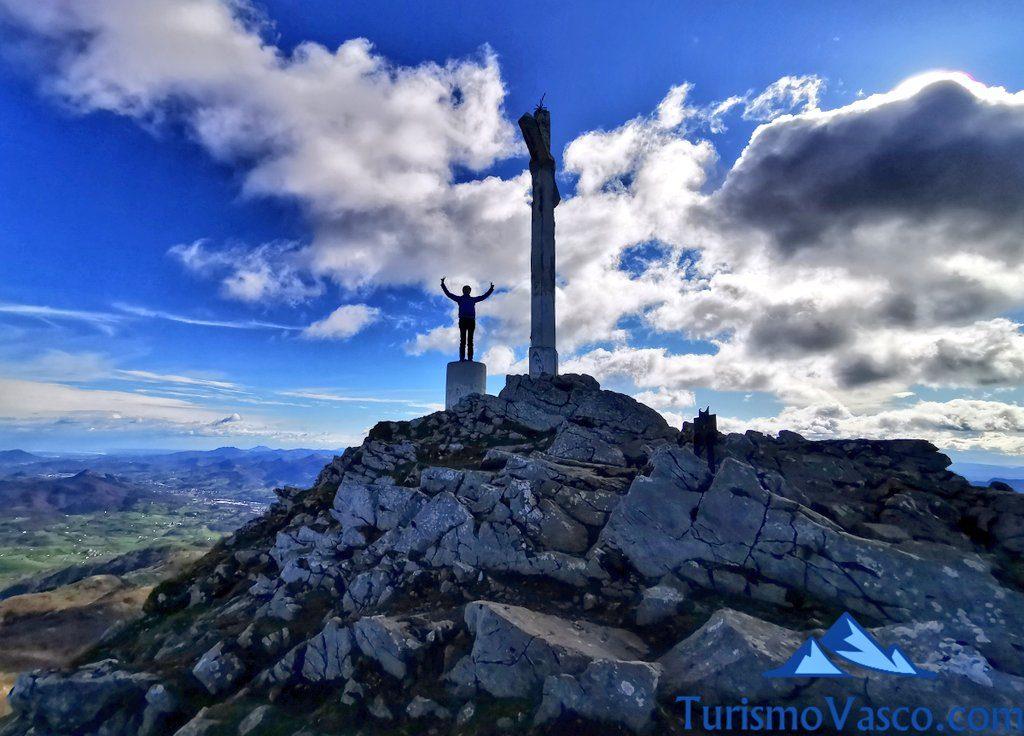 en la cima, Hernio desde Iturriotz