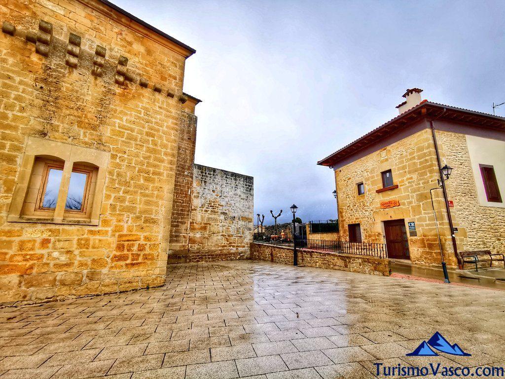 exterior mercedes etxea, casas rurales Rioja Alavesa