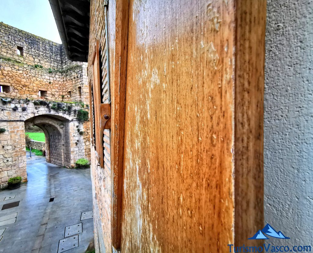 vistas areta etxea muralla, casas rurales Rioja Alavesa
