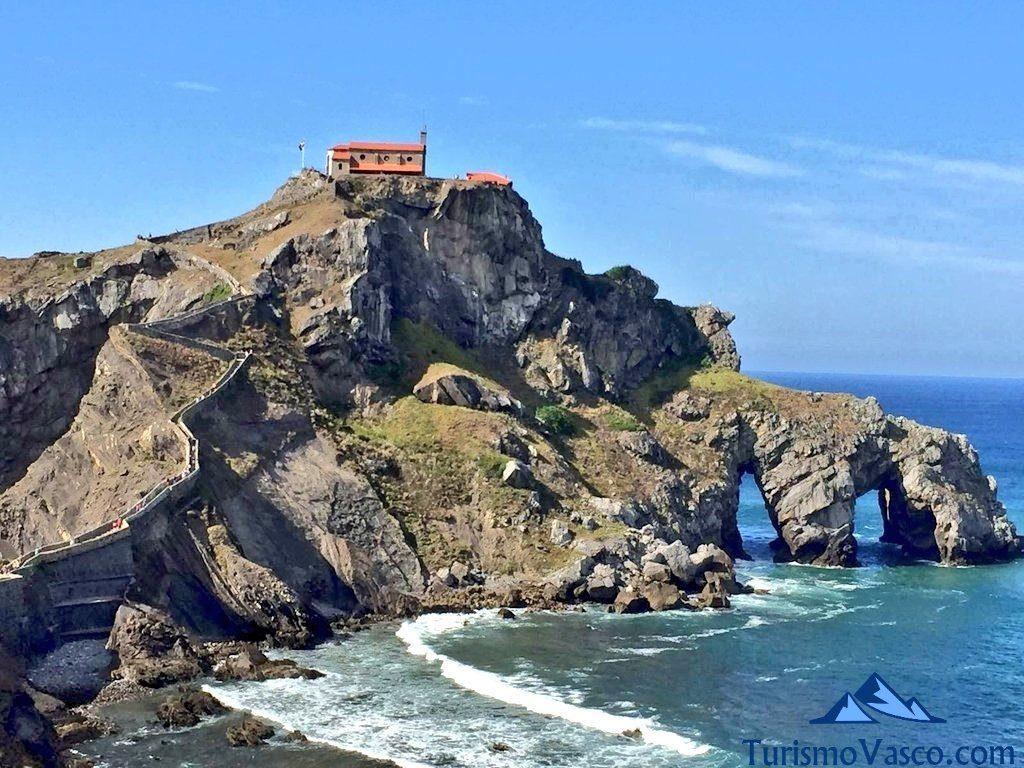 paisaje panoramica, San Juan de Gaztelugatxe
