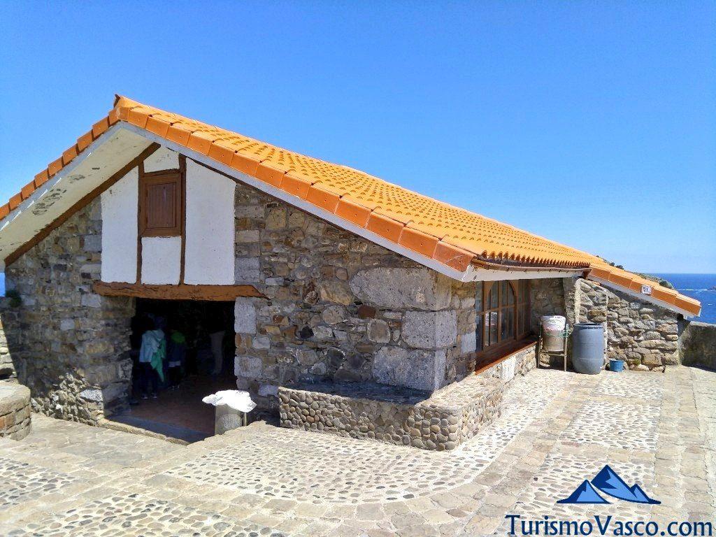 refugio de San Juan de Gaztelugatxe