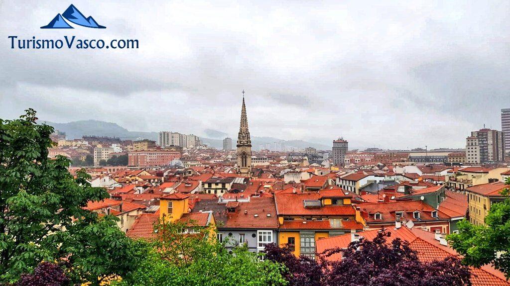 Vistas del casco viejo de Bilbao