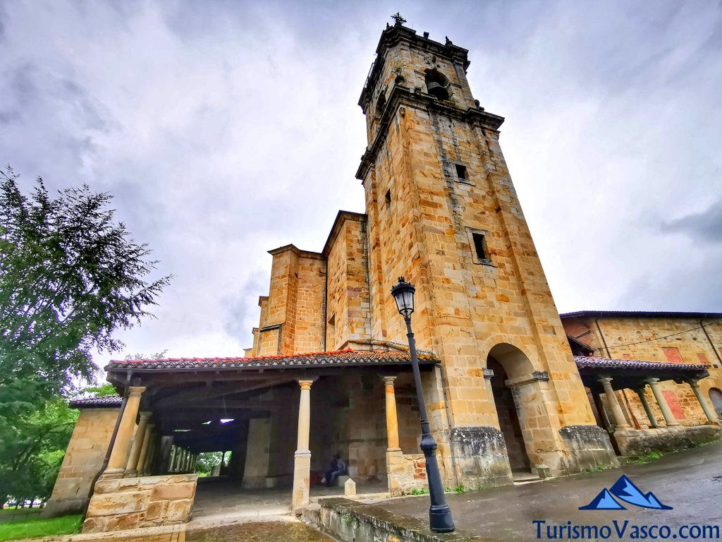 Iglesia de San Agustín de Etxebarria, Elorrio