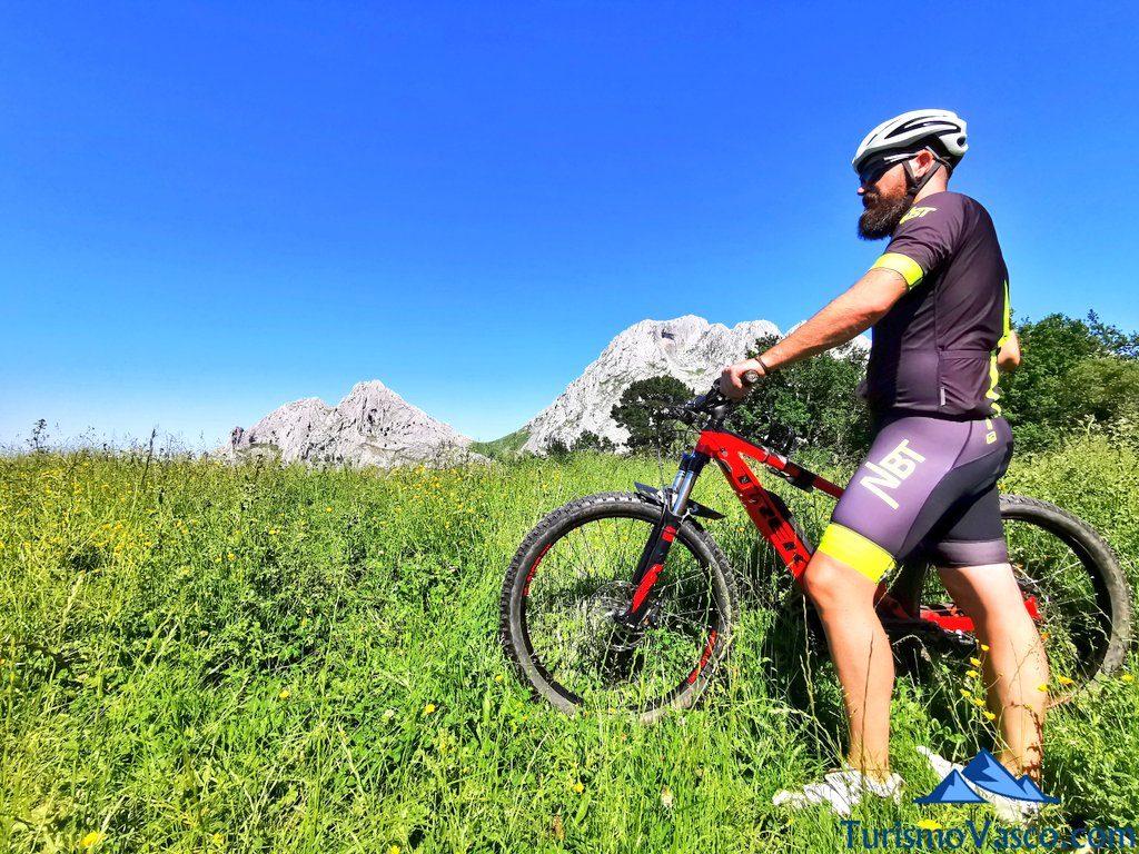 btt urkiola, rutas en bici en euskadi, cicloturismo en euskadi