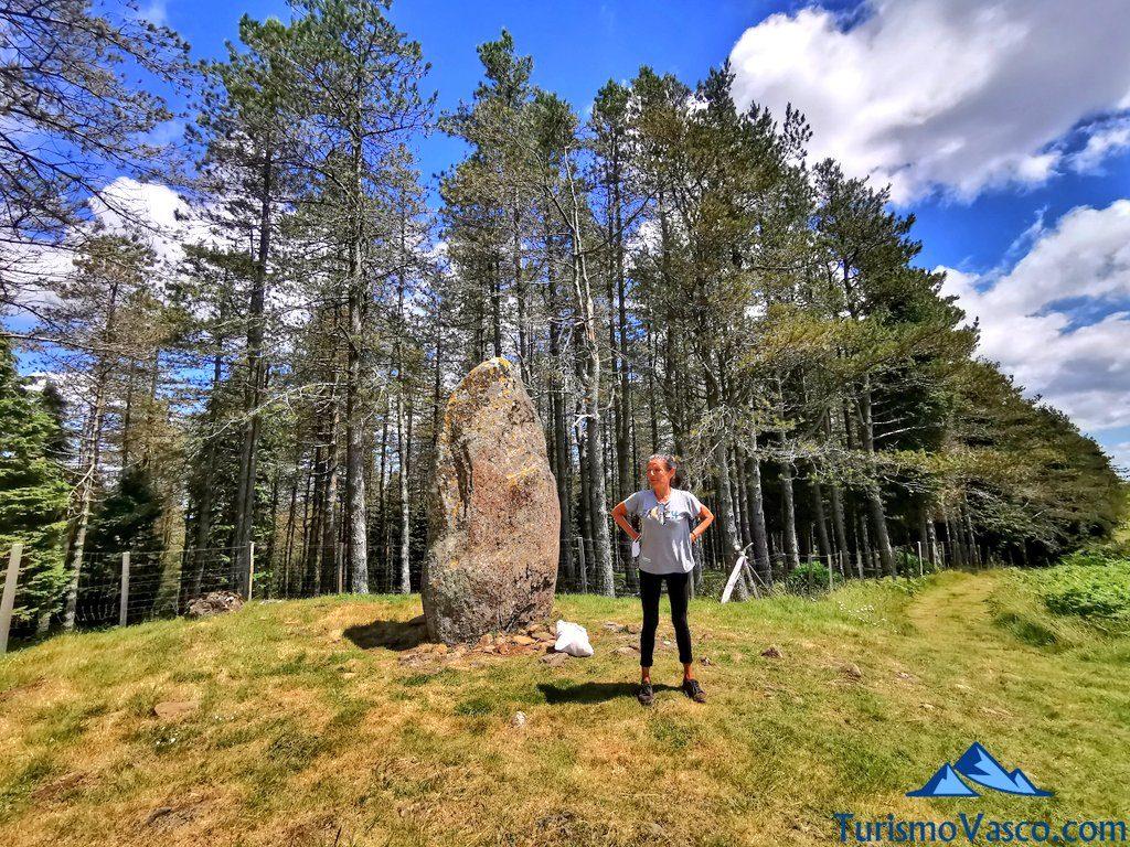 dolmen visita guiada, ruta de los dolmenes Karaketa Irukurutzeta