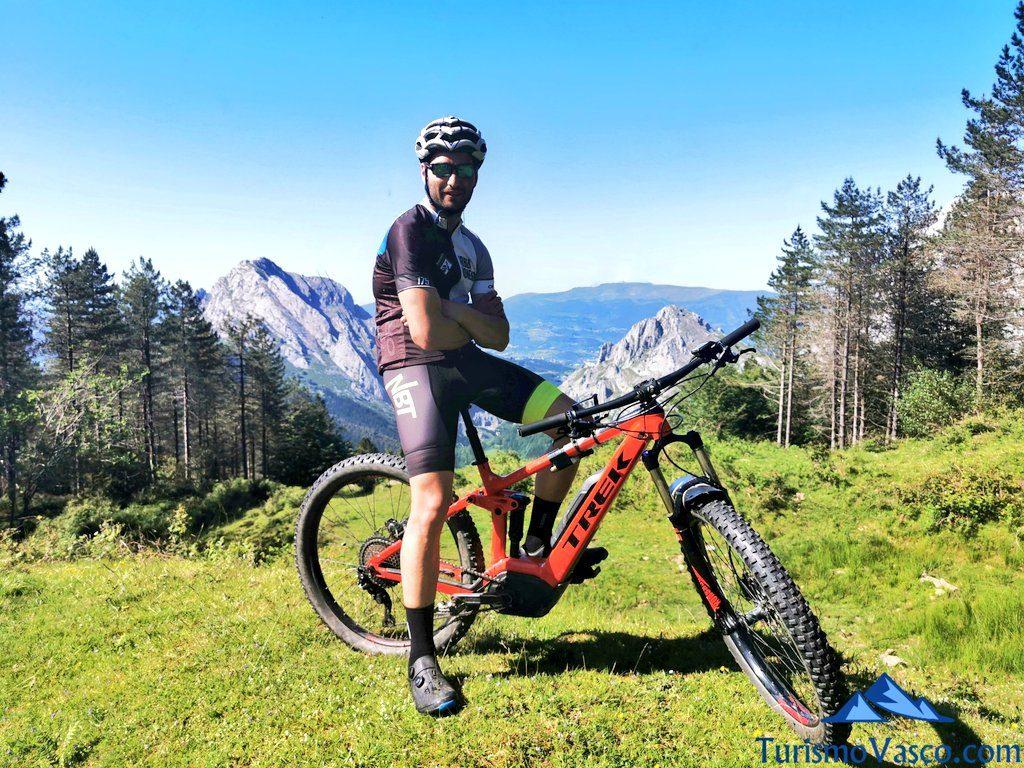 montes btt, rutas en bici en euskadi, cicloturismo en euskadi