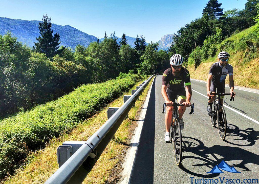 puerto, rutas en bici en euskadi, cicloturismo en euskadi