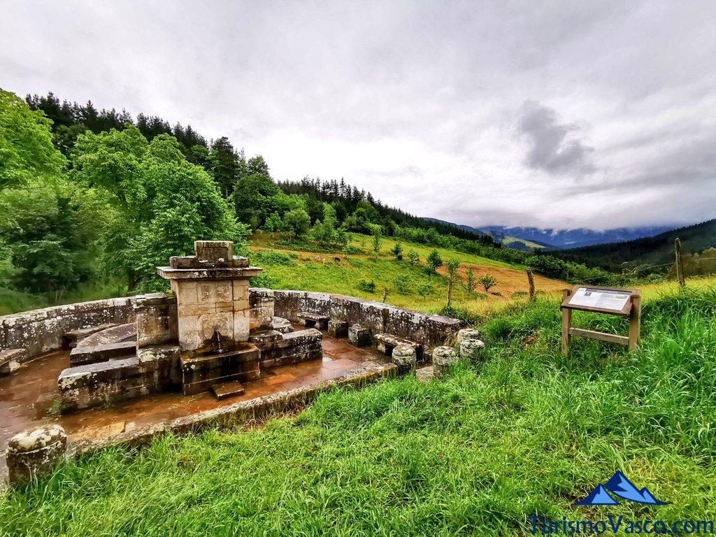 vistas Fuente de Berriozabaleta, elorrio que ver