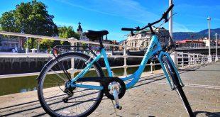 Bicicleta urbana, alquiler de bicis en Bilbao