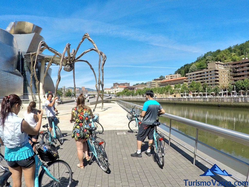 araña guggenheim, visitas guiadas en Bilbao