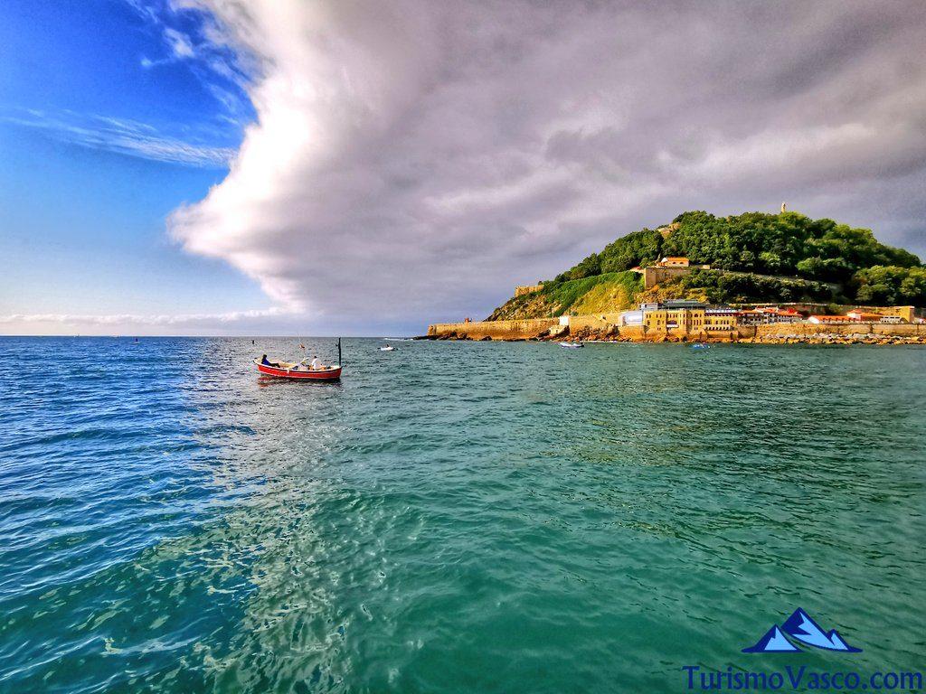 bahia de la concha, urgull, puerto, que ver donostia san sebastian