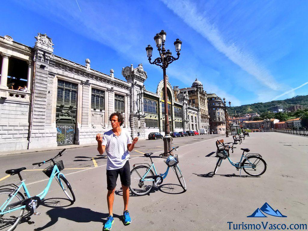 beñat guia local tourne bilbao, visitas guiadas en Bilbao