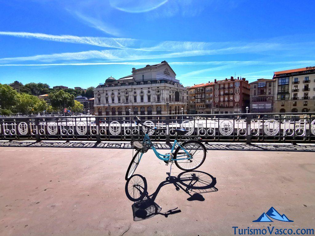 bicicleta bilbao, alquiler de bicis en bilbao