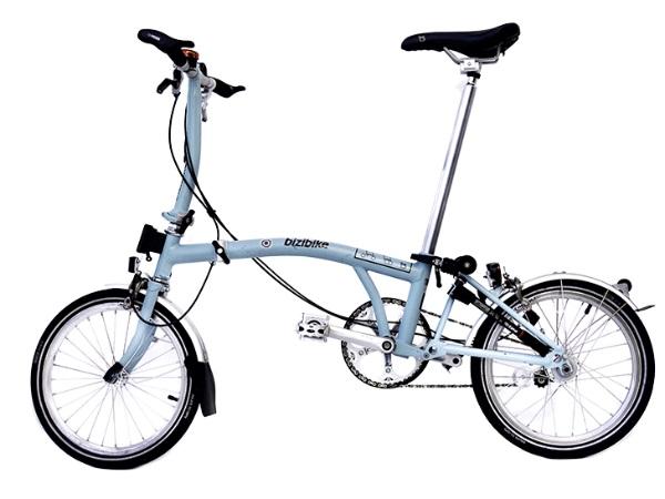 bicicleta plegable, alquiler de bicicletas en Bilbao