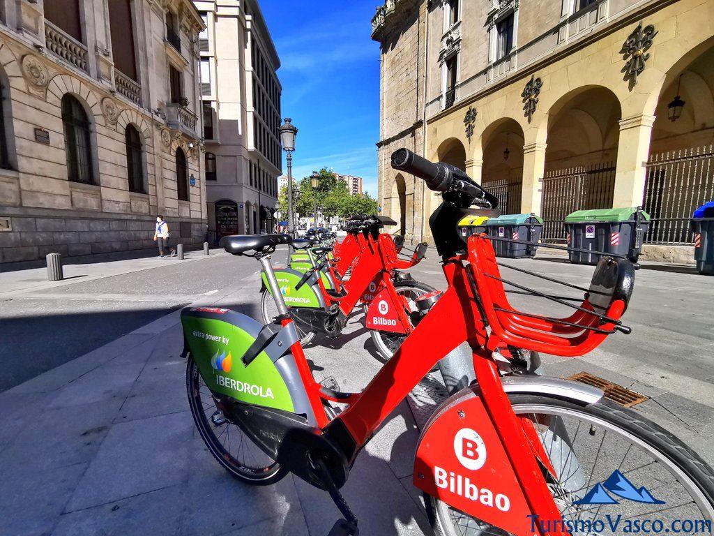 bilbao, alquiler de bicicletas en Bilbao