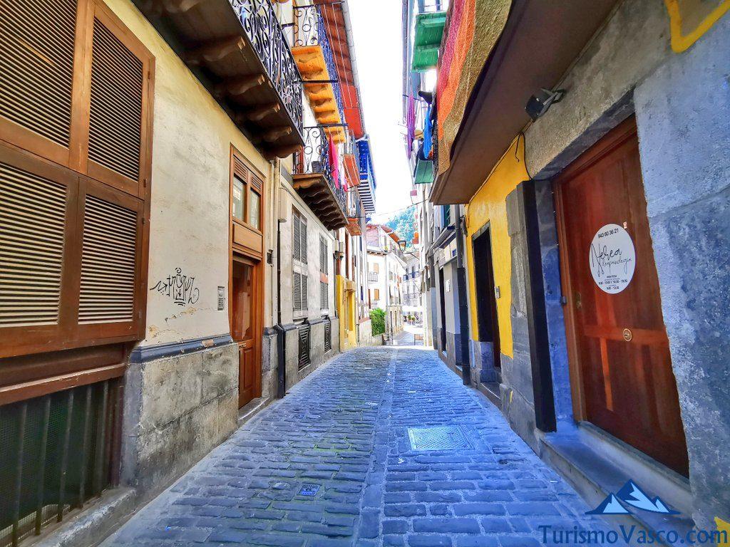 calle de mutriku, casco historico, Mutriku que ver