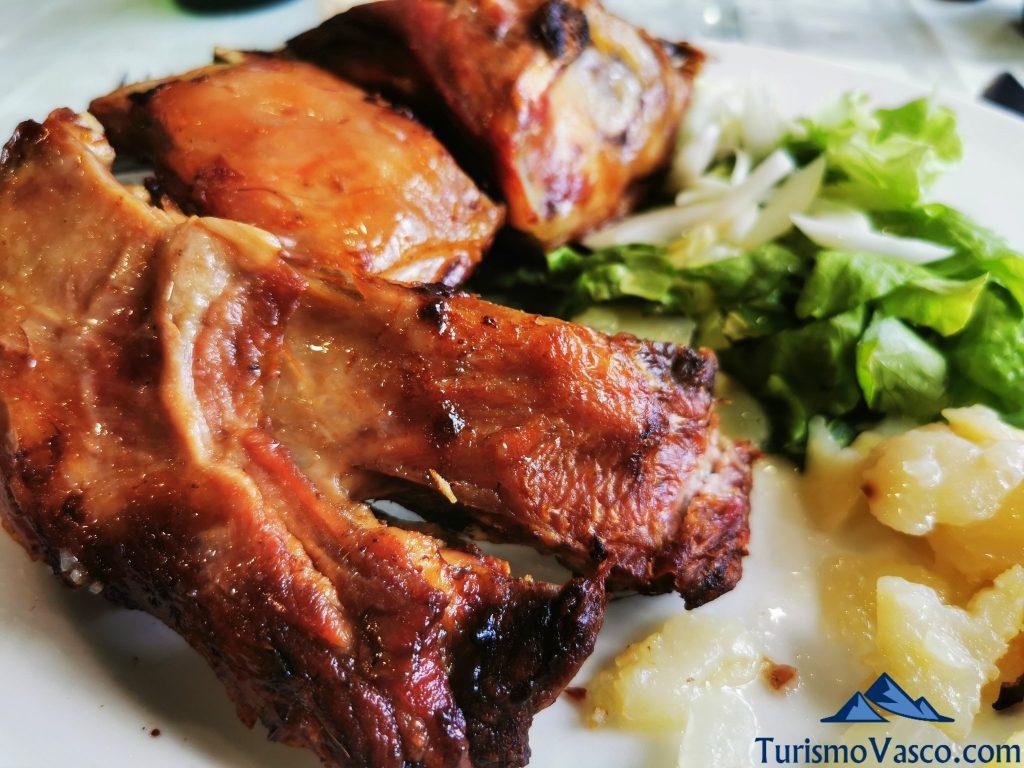 cordero, restaurante txurruka jatetxea Soraluze
