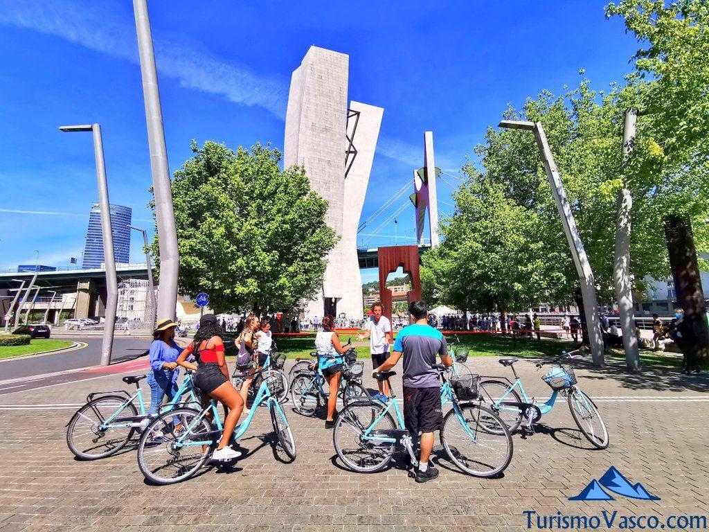 explicaciones, visitas guiadas en Bilbao