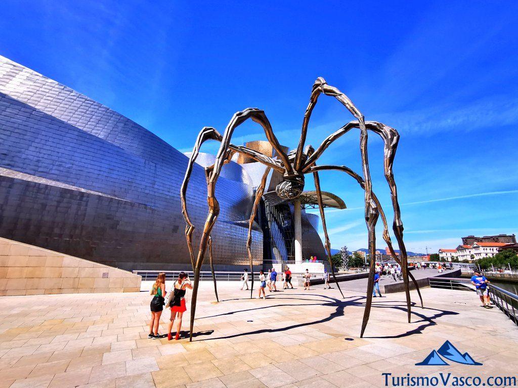 guggenheim bilbao, obras de arte, visitas guiadas en Bilbao