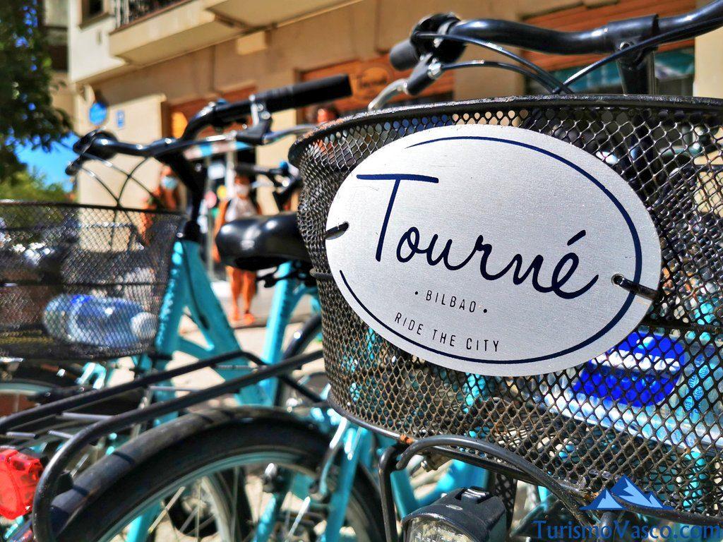 tourne, alquiler de bicis en Bilbao