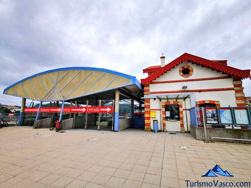 estacion de metro de Plentzia, que ver en Plentzia