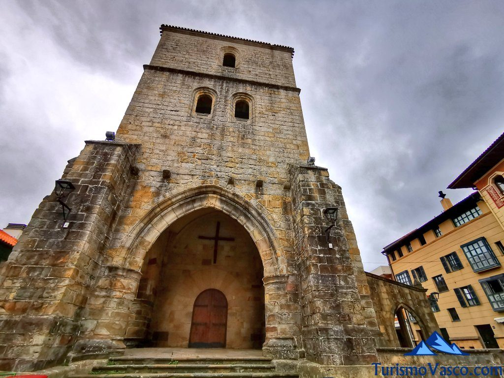 iglesia de santa maria magdalena de Plentzia, que ver en Plentzia