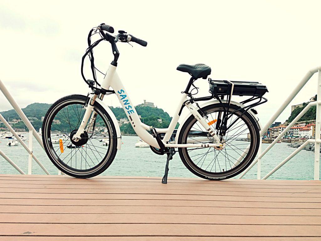 alquiler bici electrica, alquiler de bicicletas en Donostia San Sebastian