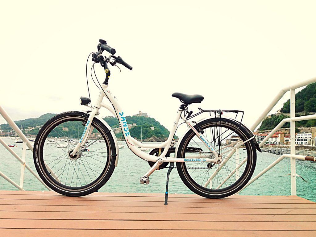 alquiler bici paseo, alquiler de bicicletas en Donostia San Sebastian