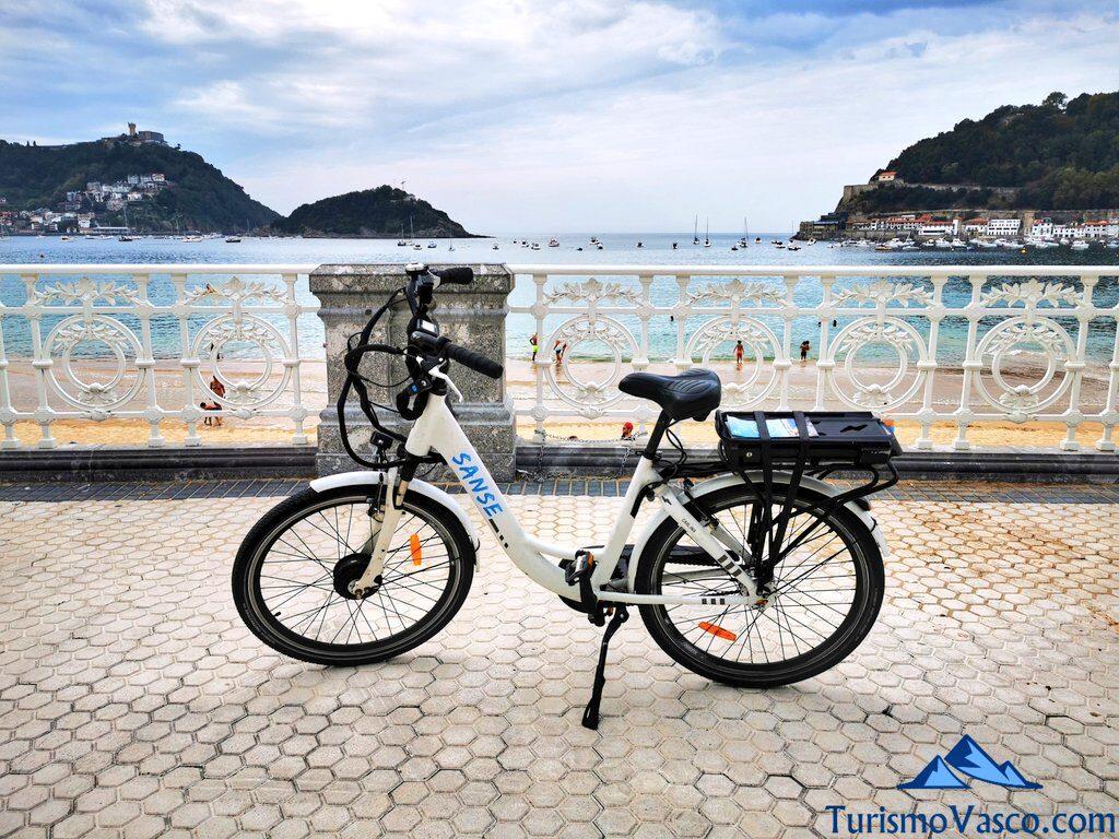 alquiler de bicicleta en donostia san sebastian, alquiler de bicicletas en Donostia San Sebastian