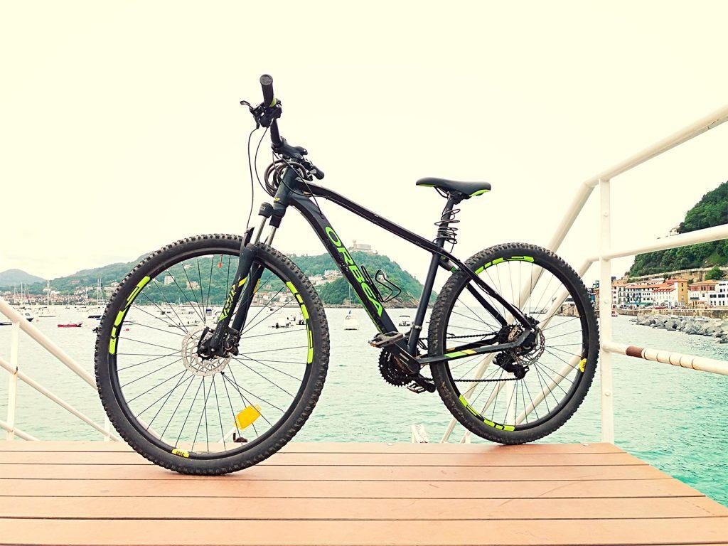 alquiler mountain bike, alquiler de bicicletas en Donostia San Sebastian